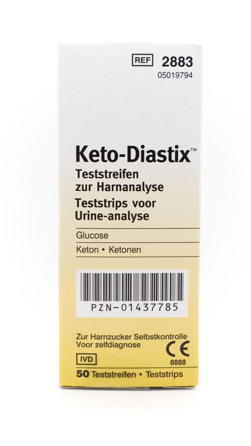 Keto Diastix 尿酮試紙 50條