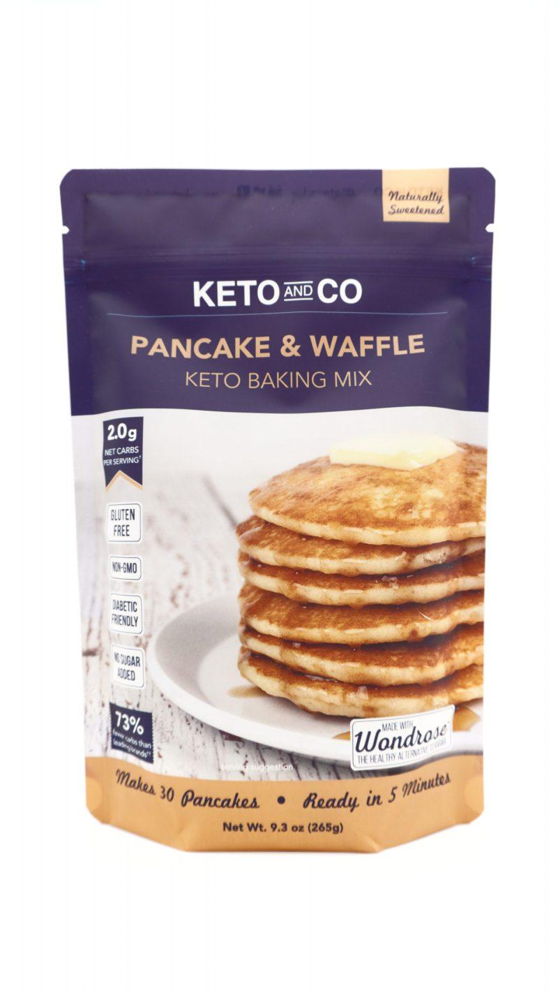 Keto and Co Pancake & Waffle Keto Baking Mix