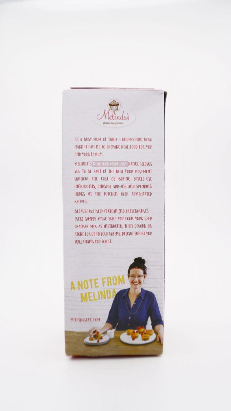 Melinda's 無麩質生酮 種籽餅預伴粉
