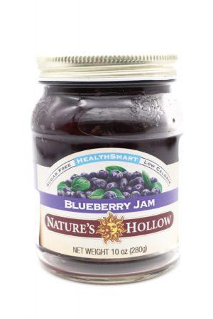 Nature's Hollow Keto blueberry jam 280g