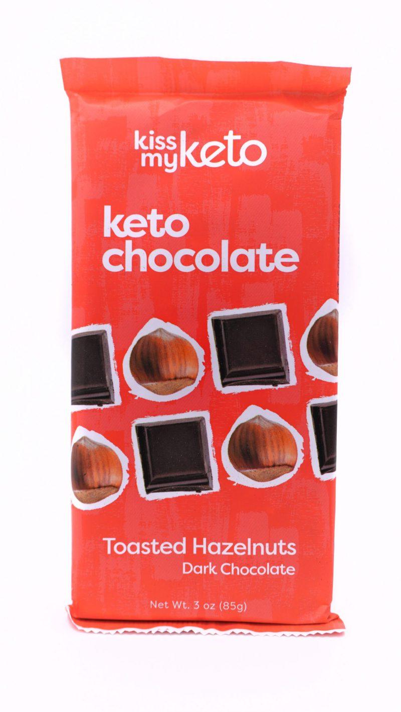 Kiss my keto Keto Dark Chocolate, Toasted Hazelnut