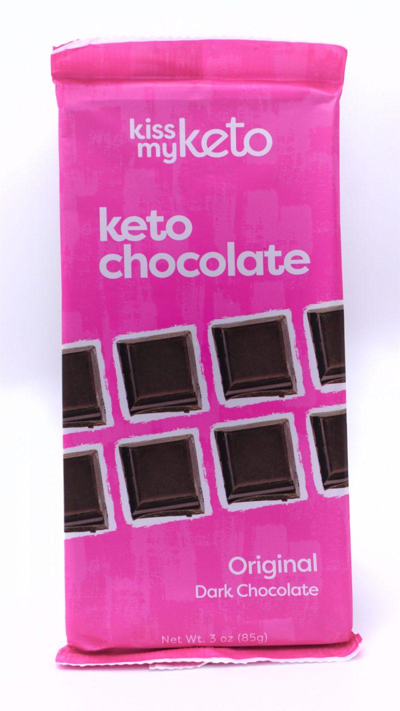 Kiss my keto Keto Dark Chocolate, Original