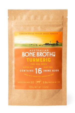 Australian Bone Broth Turmeric Flavor