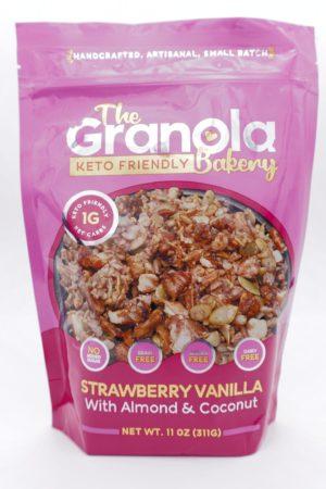 Granola Bakery Strawberry 生酮酥脆片 士多啤梨