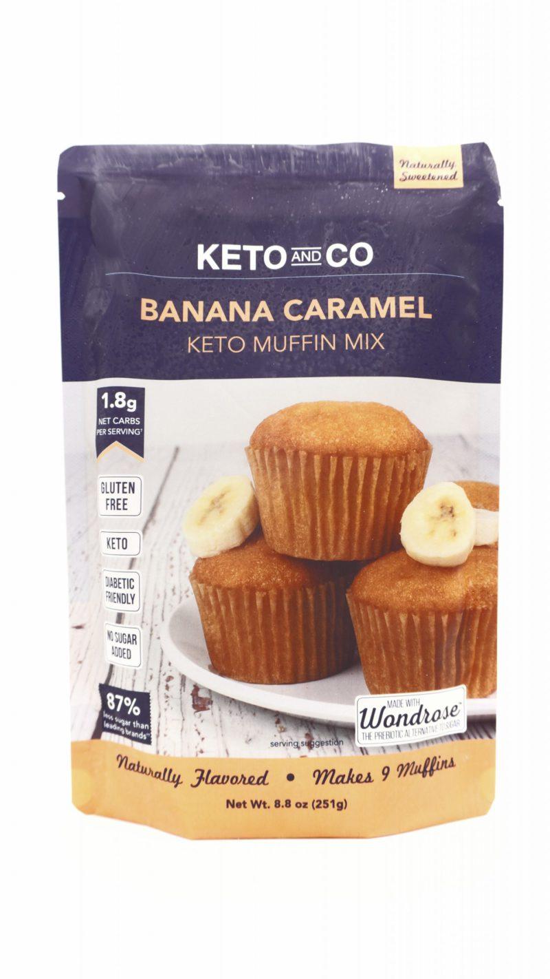 Keto & Co Banana Caramel Keto Muffin Mix 251g