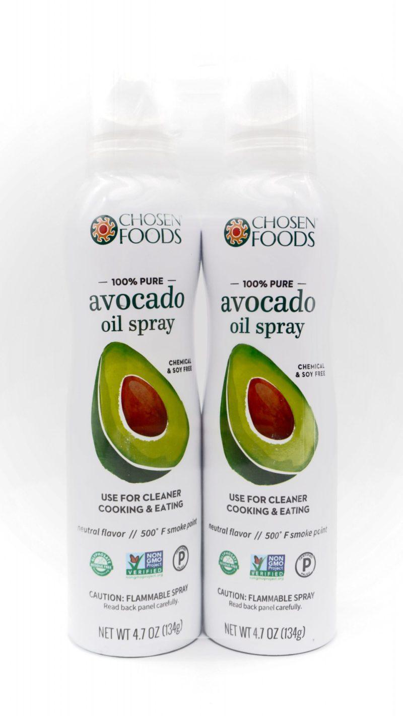 CHOSEN FOOD Avocado Oil Spray 138g 2 pcs
