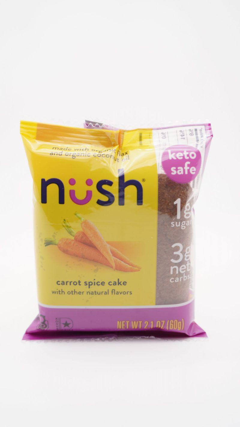 Nush Keto Carrot Spice Cake 60g