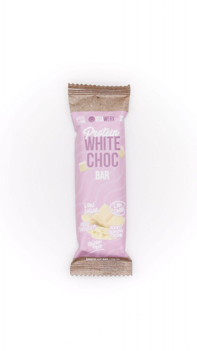 Vitawerx Chocolate - Protein White Choc Bar 35g