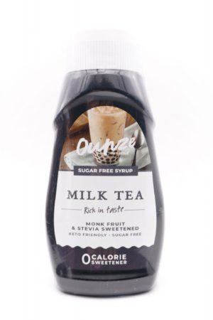 Ounze keto syrup milk tea 320ml