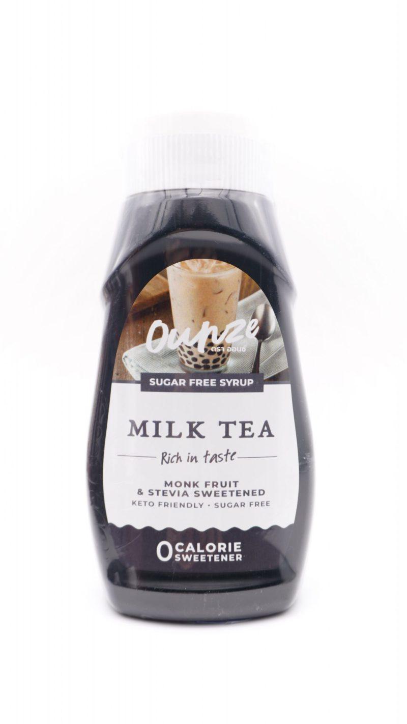 Ounze syrup 生酮糖漿 奶茶味 320ml