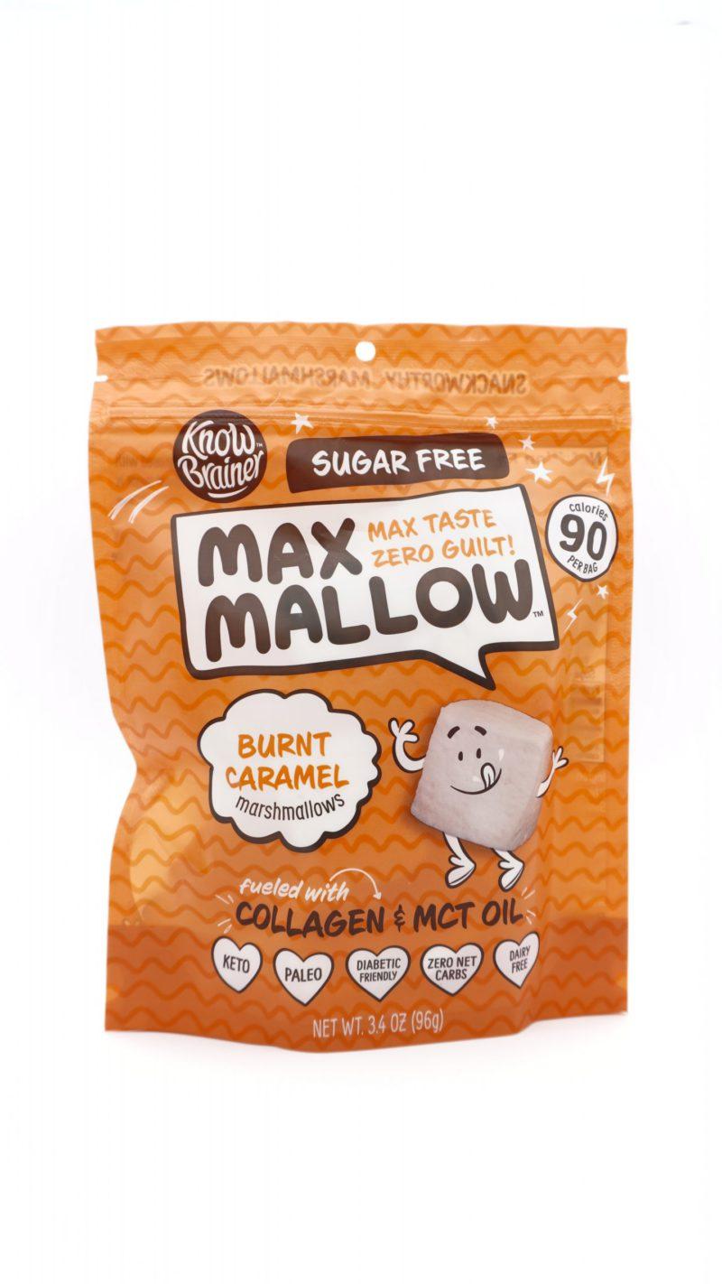 Know Brainer Max Mallow Burnt Caramel Flavor 96g