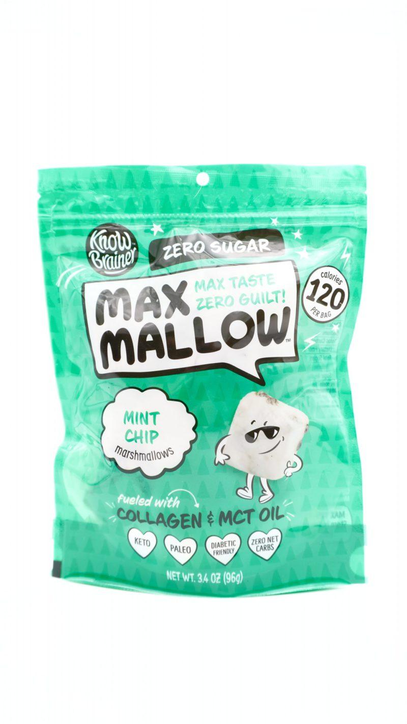 Know Brainer Max Mallow Mint Chip Flavor 96g