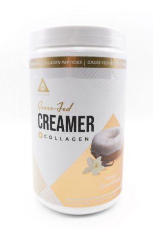 LevelUp® Keto Coffee Creamer 純C8中鏈脂肪酸+草飼骨膠源 雲呢拿味198g