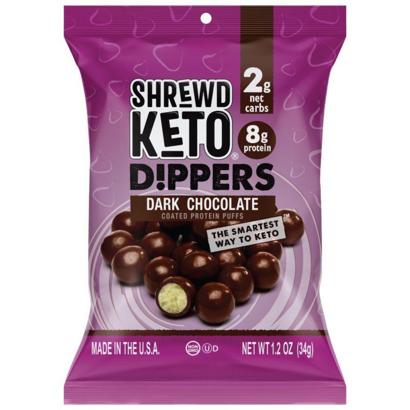 SHREWD FOOD Dark Chocolate Keto Dippers