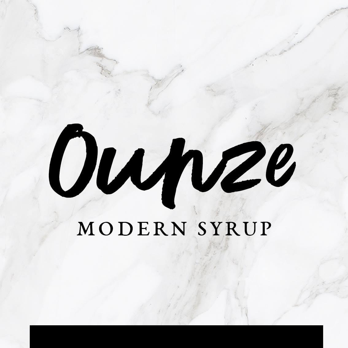 Ounze syrup