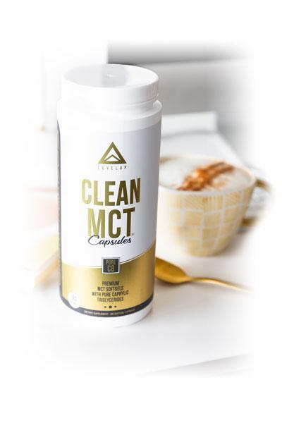 LevelUp® MCT oil 100%純C8中鏈脂肪酸膠囊 280粒