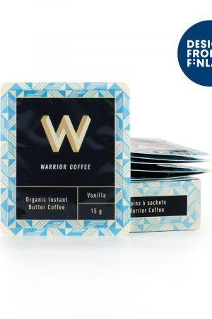 Warrior Coffee 芬蘭全有機優質防彈咖啡 雲尼拿味