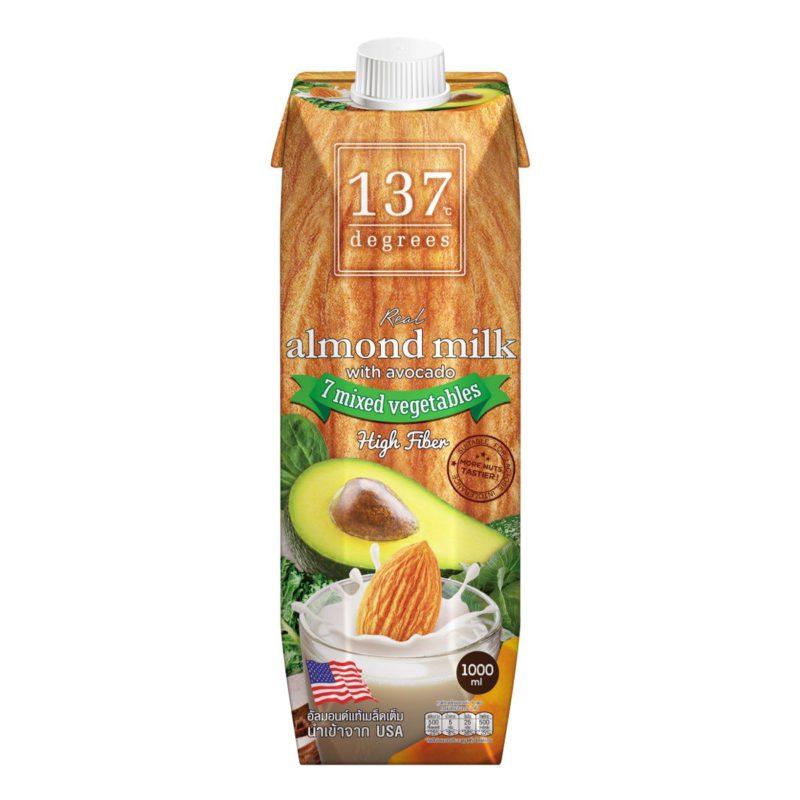 137 Degrees Almond Milk with avocado 1L