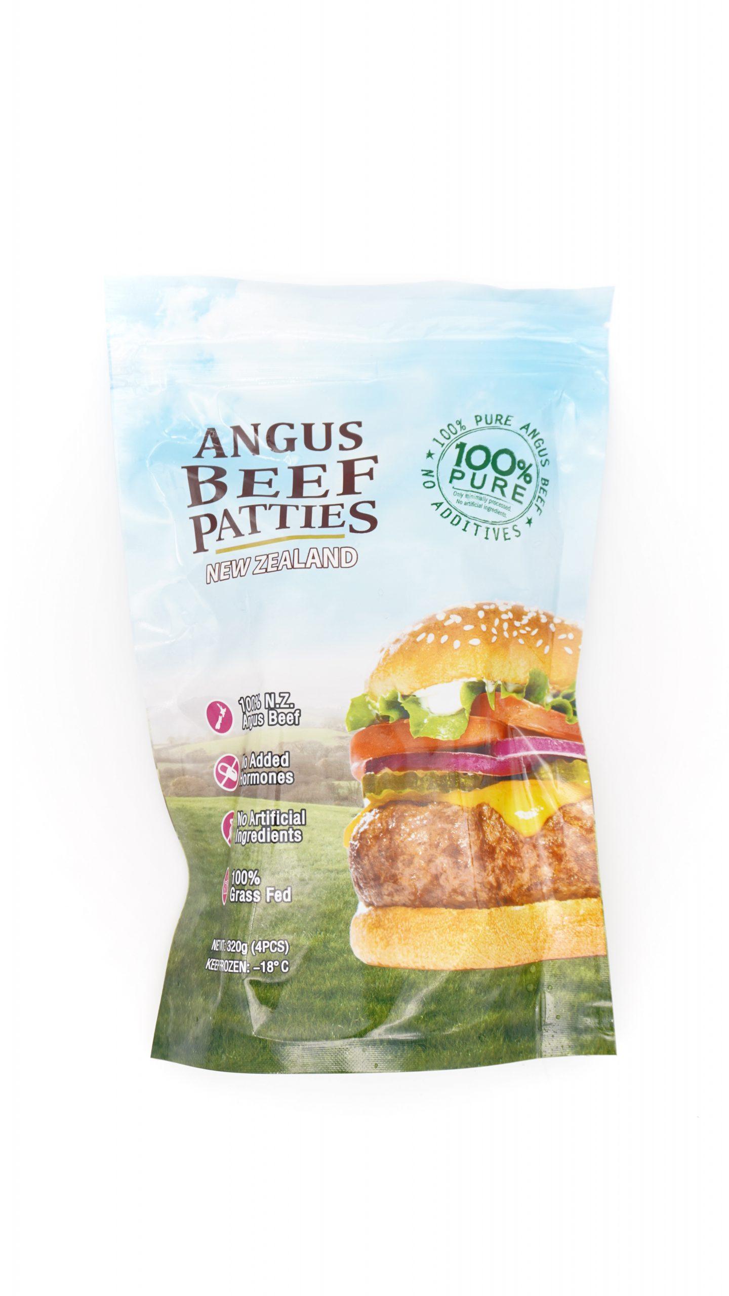 New Zealand Angus Beef Patties 320g 4pcs