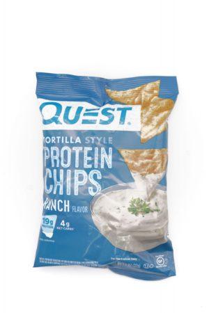 Quest 玉米餅蛋白脆片 田園沙律醬味 32g