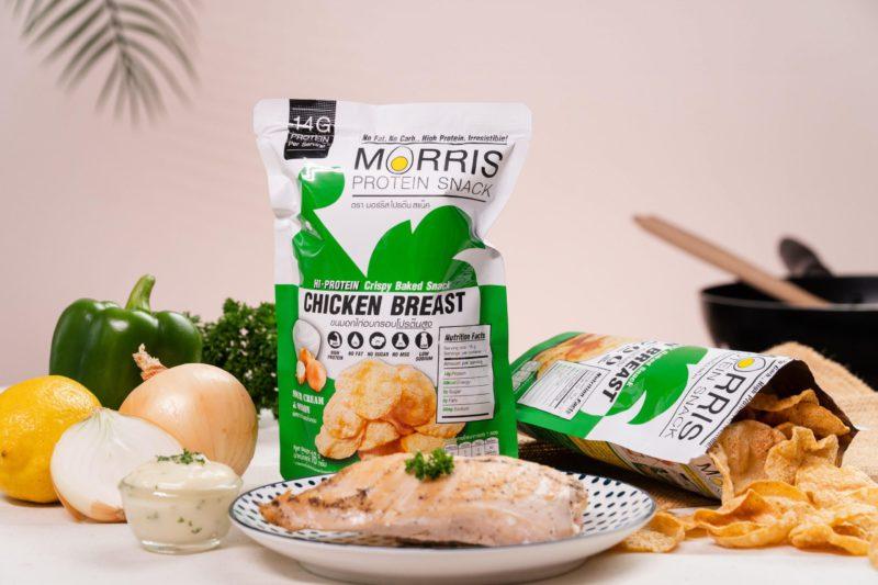 Morris 雞胸肉脆片 酸忌廉洋蔥味 16g