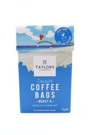 Taylors of Harrogate Decaffe Coffee Bags - 10 enveloped bags